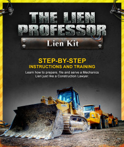 Professional, All Inclusive Lien Kit from the Lien Professor